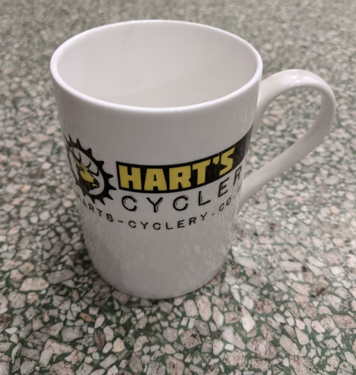 Hart's Cyclery Fine Bone China Mug